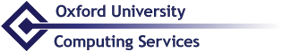 Oxford University Computing Services logo